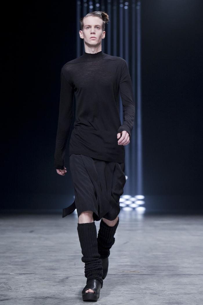 Collections cover rick owens ss13 island mens runway photographed by valerio mezzanotti 01
