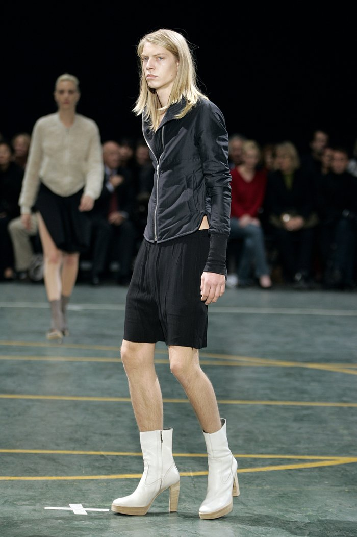 Collections cover rick owens aw05 moog runway 09