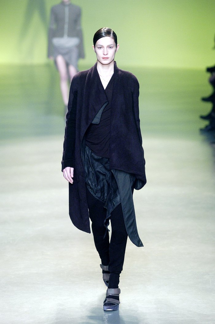 Collections cover rick owens aw04 queen runway 05