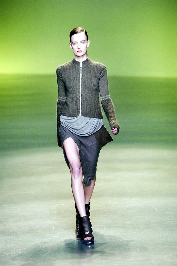 Collections cover rick owens aw04 queen runway 06
