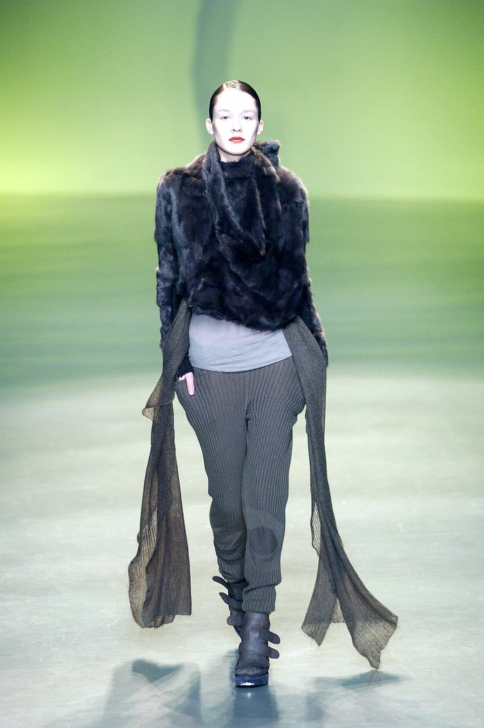 Collections cover rick owens aw04 queen runway 011