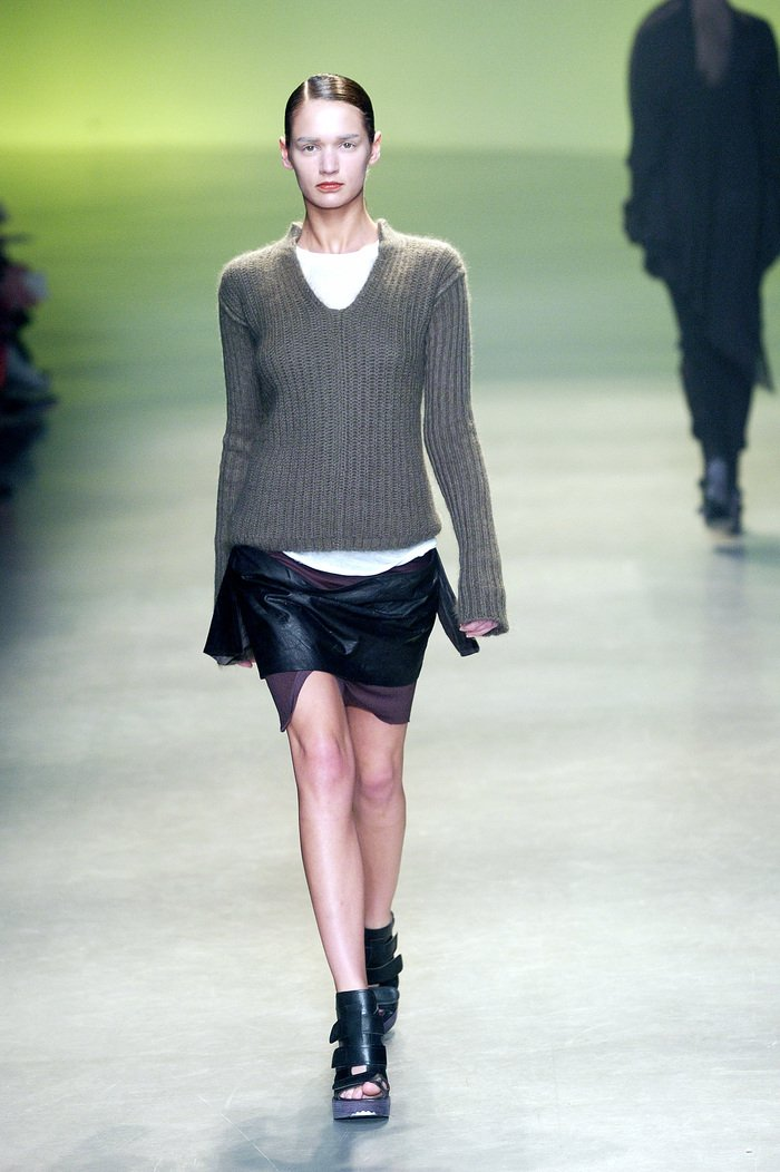 Collections cover rick owens aw04 queen runway 013