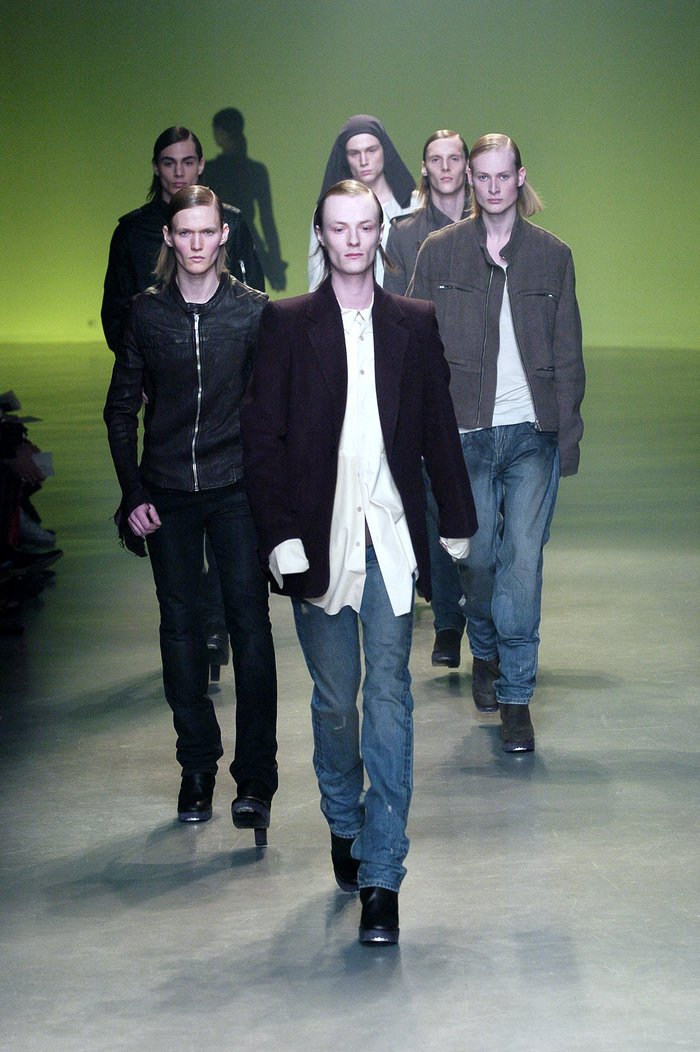 Collections cover rick owens aw04 queen runway 014