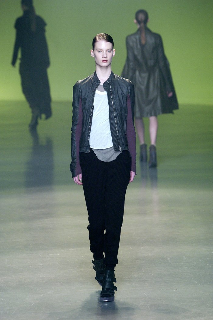 Collections cover rick owens aw04 queen runway 018