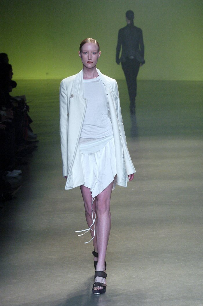 Collections cover rick owens aw04 queen runway 020