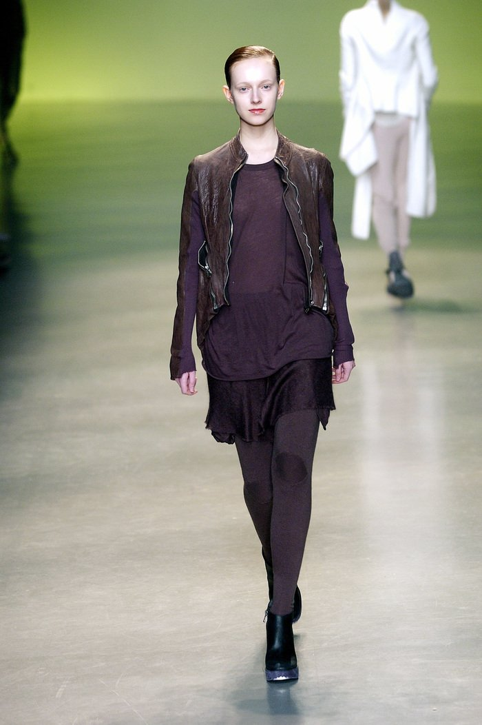 Collections cover rick owens aw04 queen runway 028
