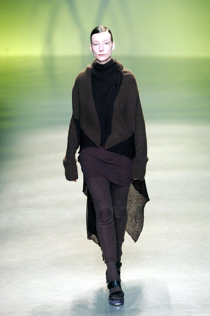 Collections cover rick owens aw04 queen runway 030