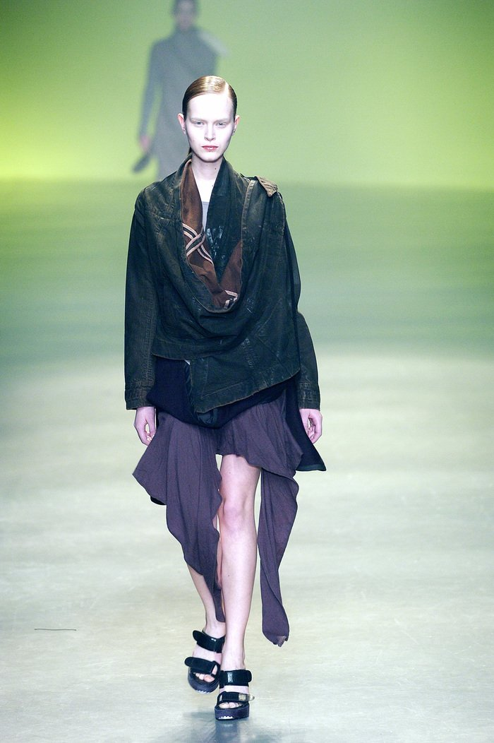 Collections cover rick owens aw04 queen runway 049