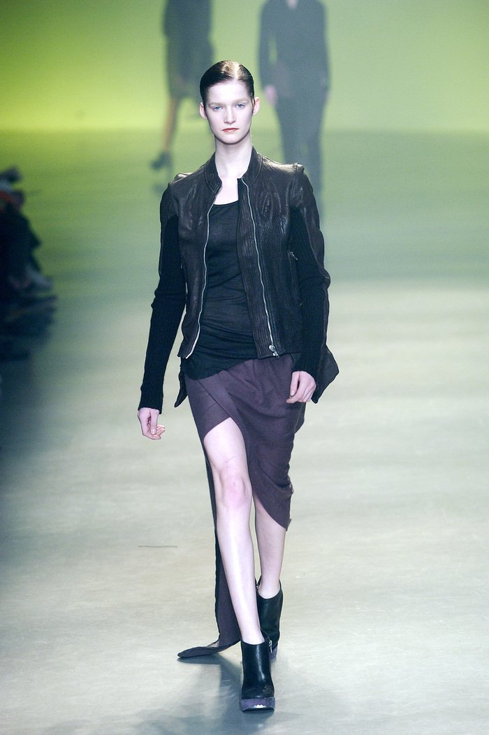 Collections cover rick owens aw04 queen runway 052