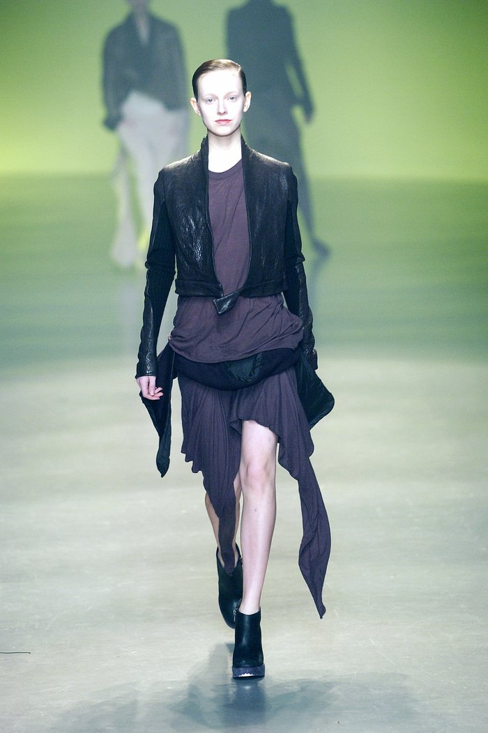 Collections cover rick owens aw04 queen runway 054