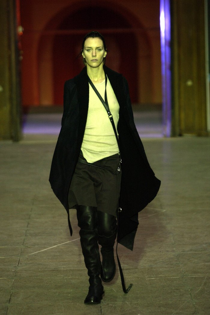 Collections cover rick owens aw03 trucker runway 01