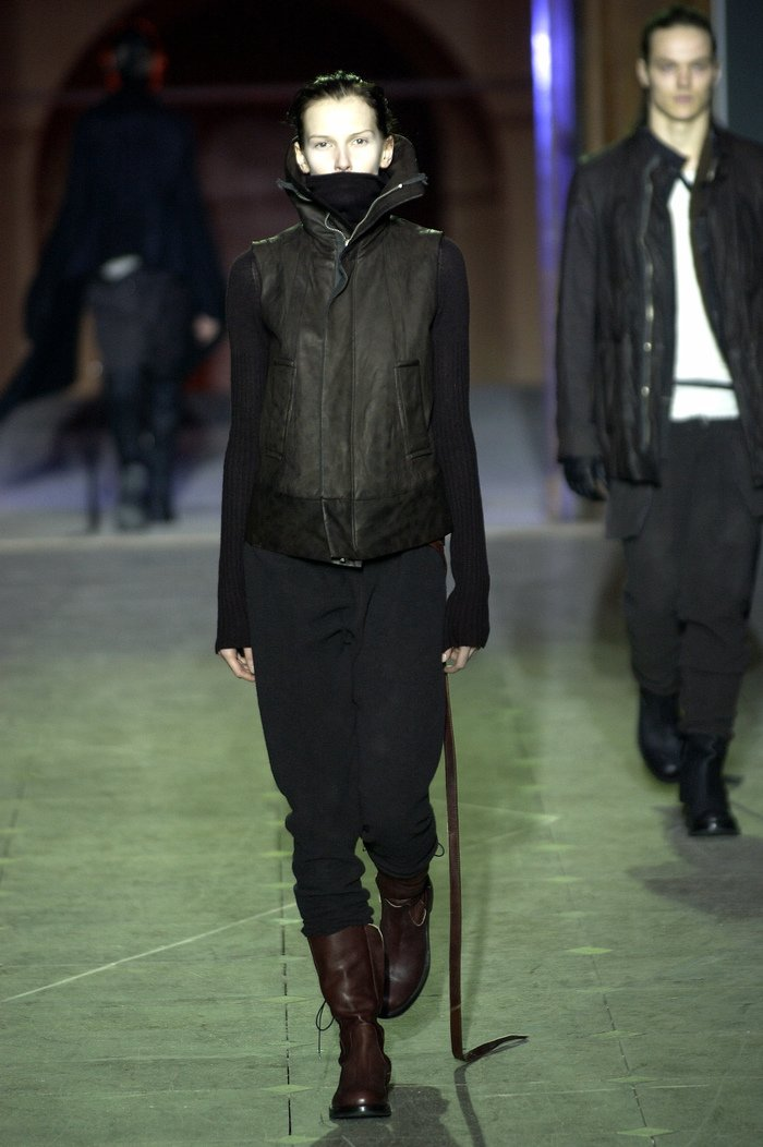 Collections cover rick owens aw03 trucker runway 02