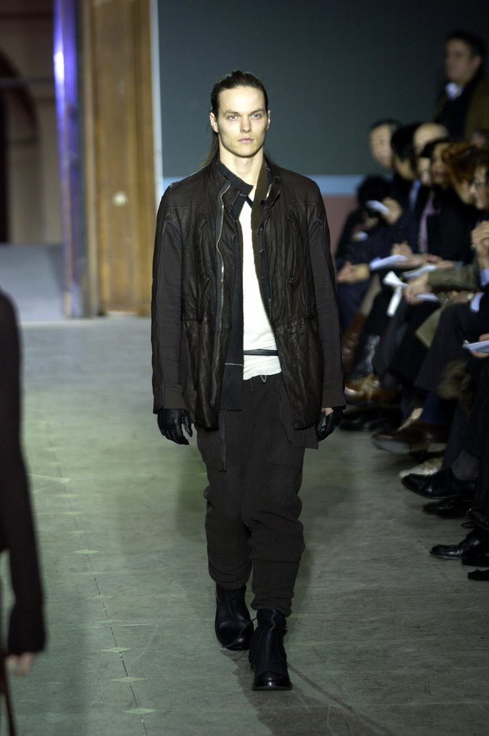 Collections cover rick owens aw03 trucker runway 03