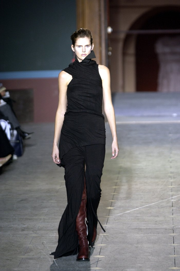 Collections cover rick owens aw03 trucker runway 05