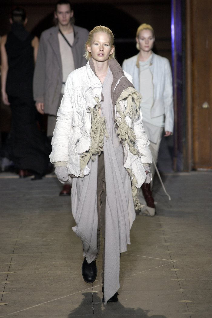 Collections cover rick owens aw03 trucker runway 06