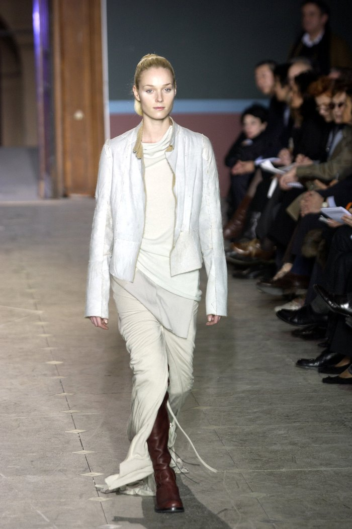 Collections cover rick owens aw03 trucker runway 07