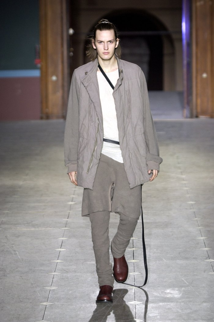 Collections cover rick owens aw03 trucker runway 08
