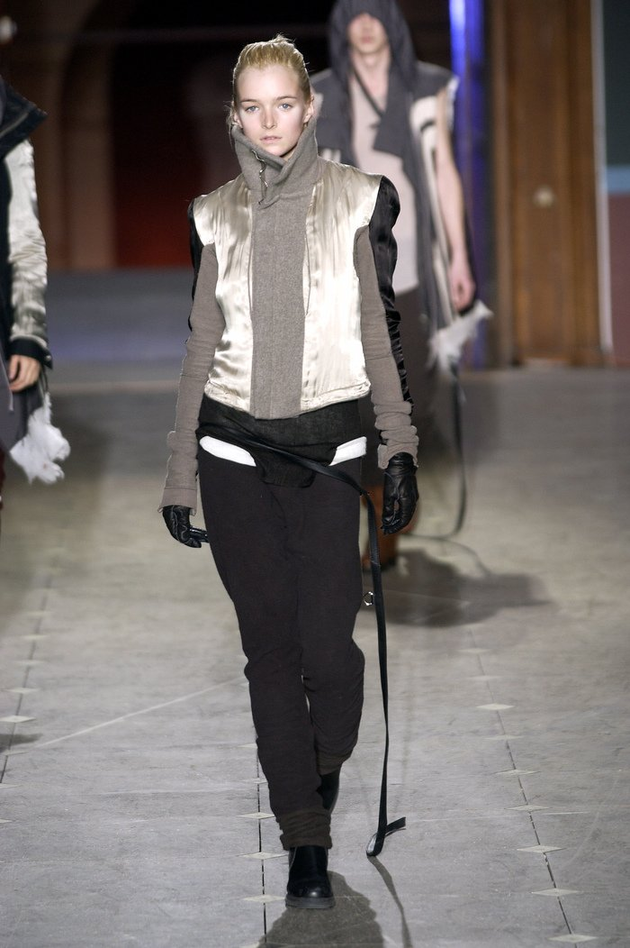 Collections cover rick owens aw03 trucker runway 09