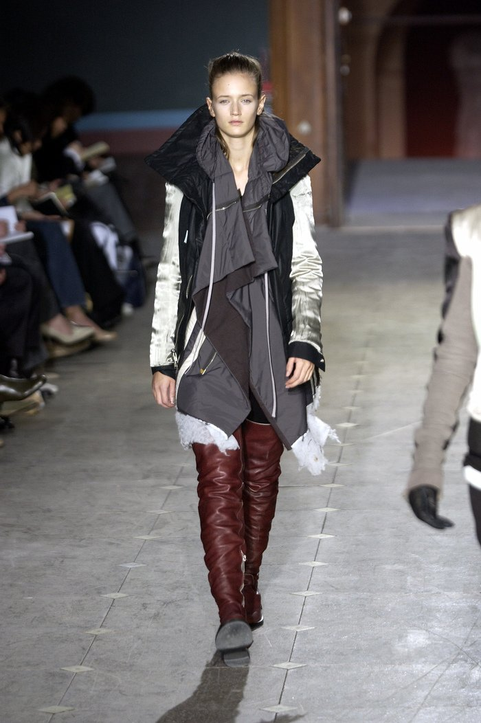 Collections cover rick owens aw03 trucker runway 010