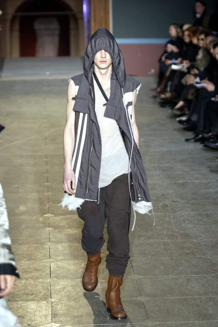 Collections cover rick owens aw03 trucker runway 011