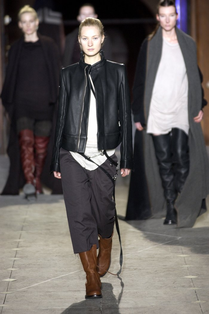 Collections cover rick owens aw03 trucker runway 012
