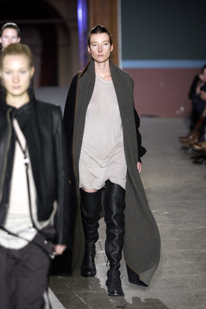 Collections cover rick owens aw03 trucker runway 013
