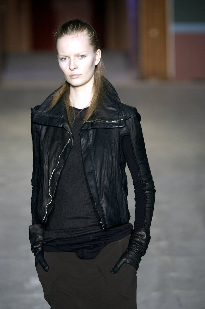 Collections cover rick owens aw03 trucker runway 017
