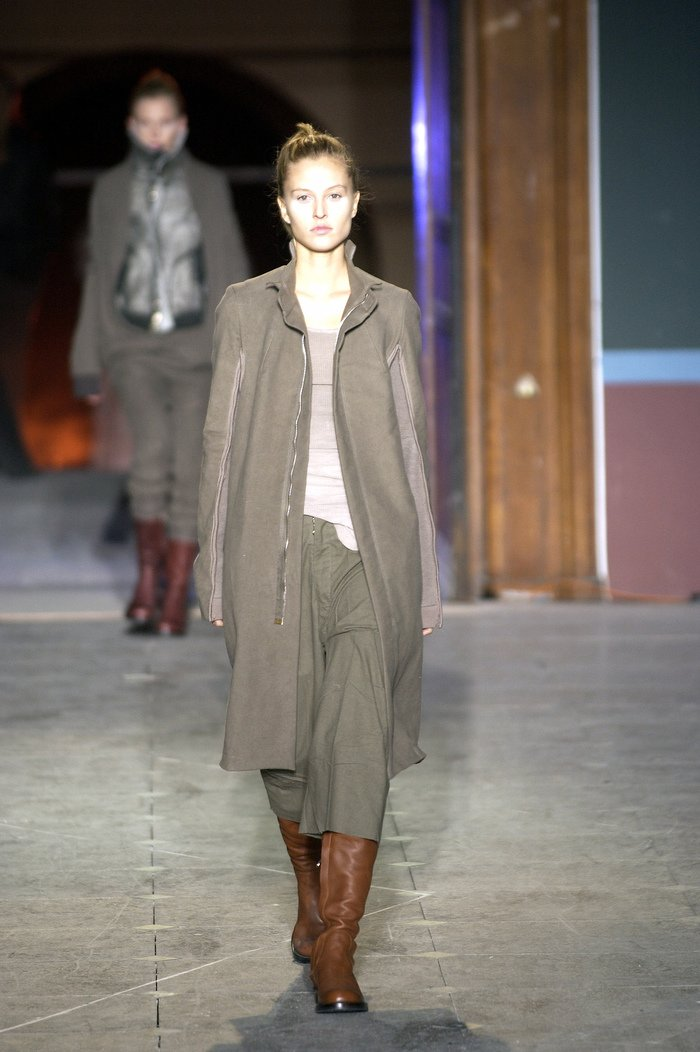 Collections cover rick owens aw03 trucker runway 018