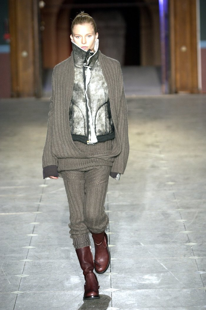 Collections cover rick owens aw03 trucker runway 019