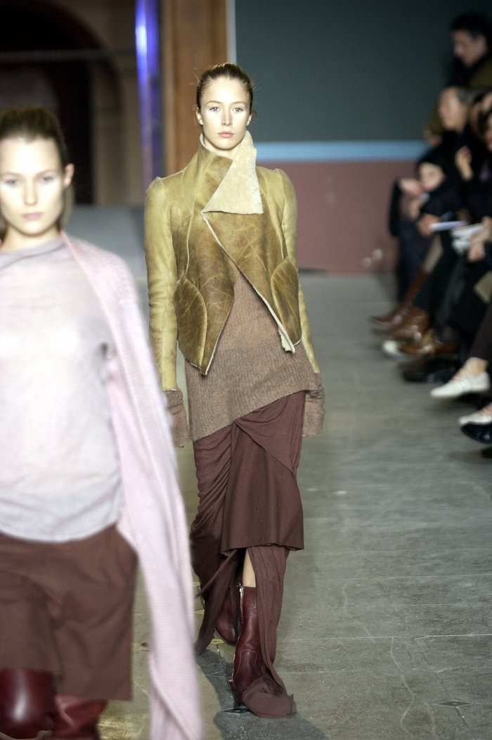 Collections cover rick owens aw03 trucker runway 021
