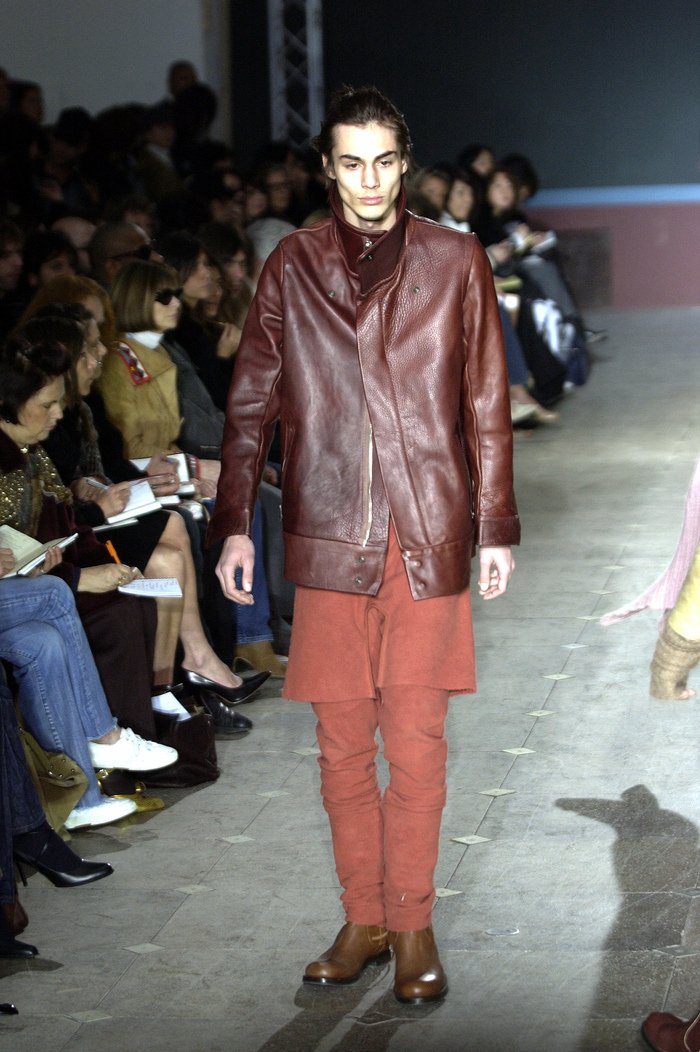 Collections cover rick owens aw03 trucker runway 022