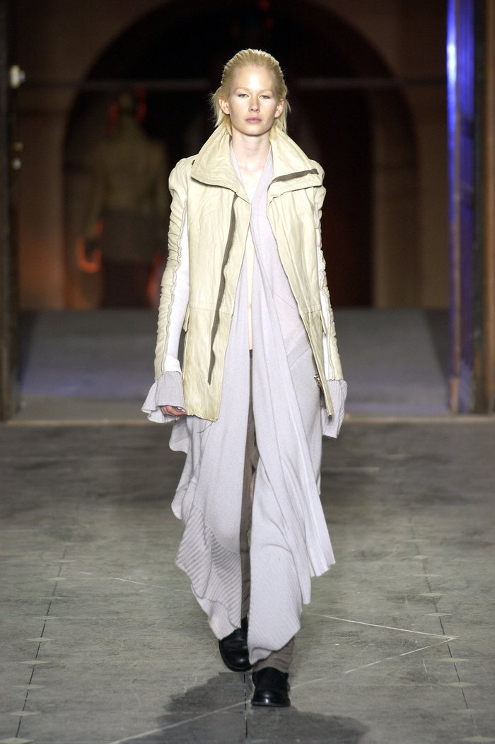 Collections cover rick owens aw03 trucker runway 023