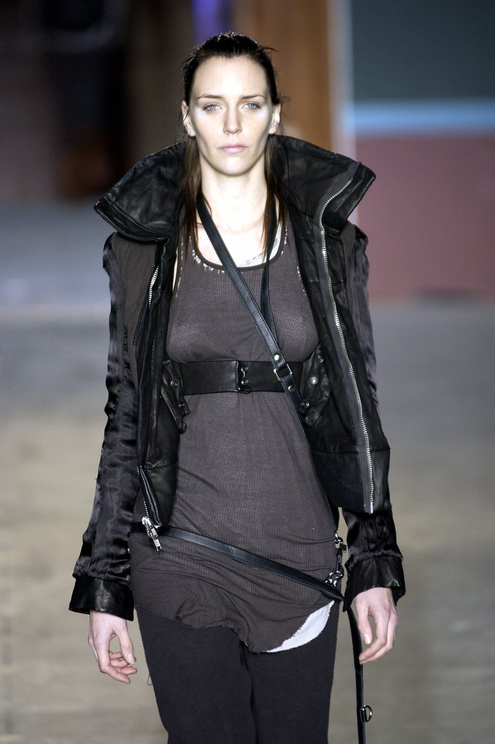 Collections cover rick owens aw03 trucker runway 024