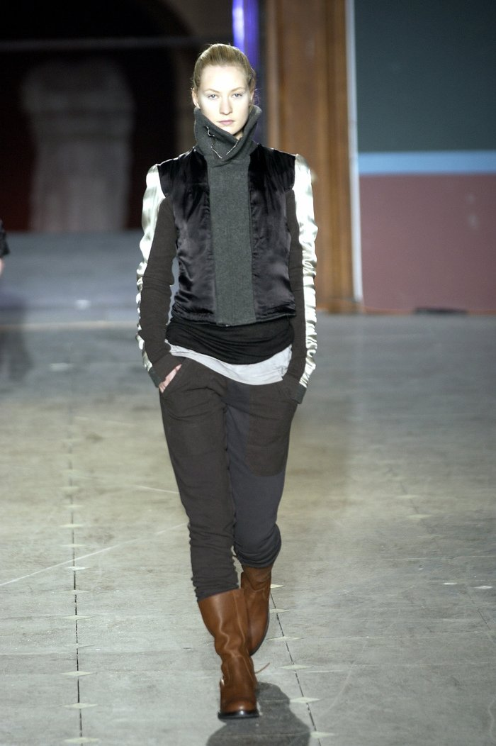 Collections cover rick owens aw03 trucker runway 025