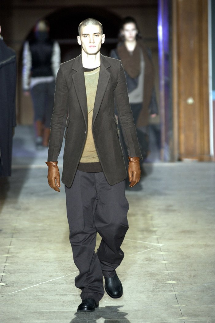Collections cover rick owens aw03 trucker runway 026