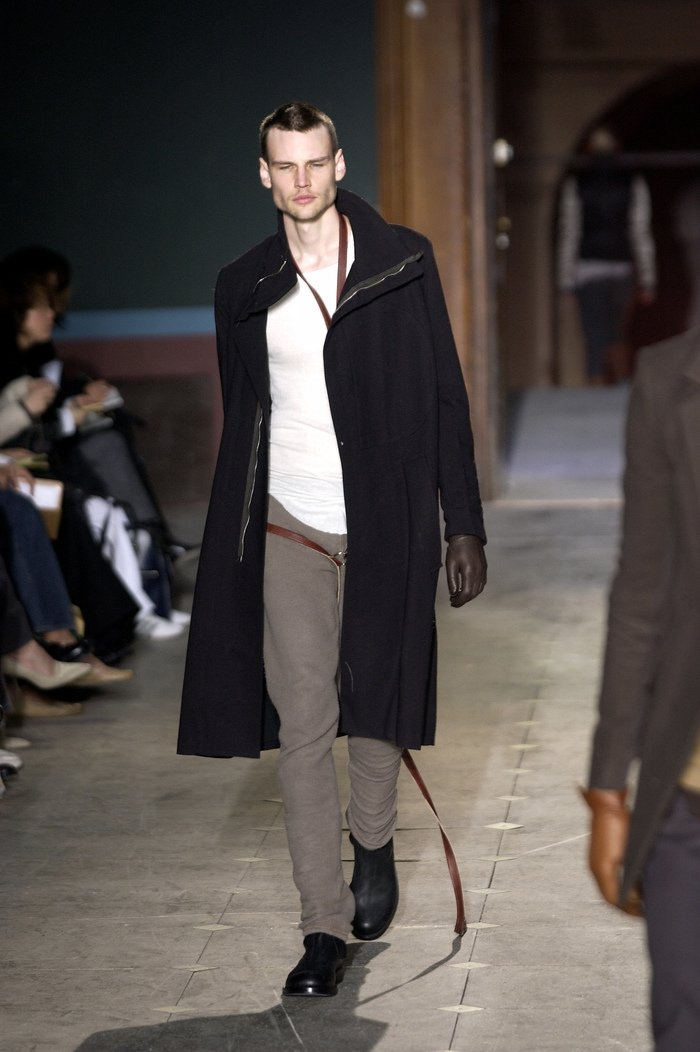 Collections cover rick owens aw03 trucker runway 027