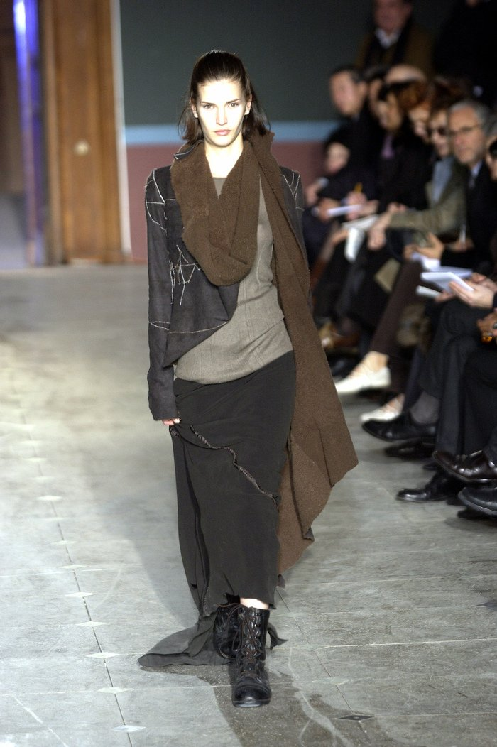 Collections cover rick owens aw03 trucker runway 028