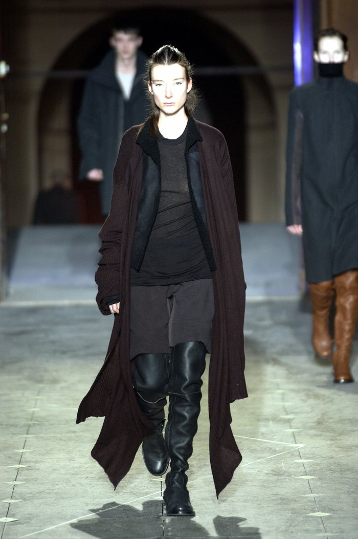 Collections cover rick owens aw03 trucker runway 029
