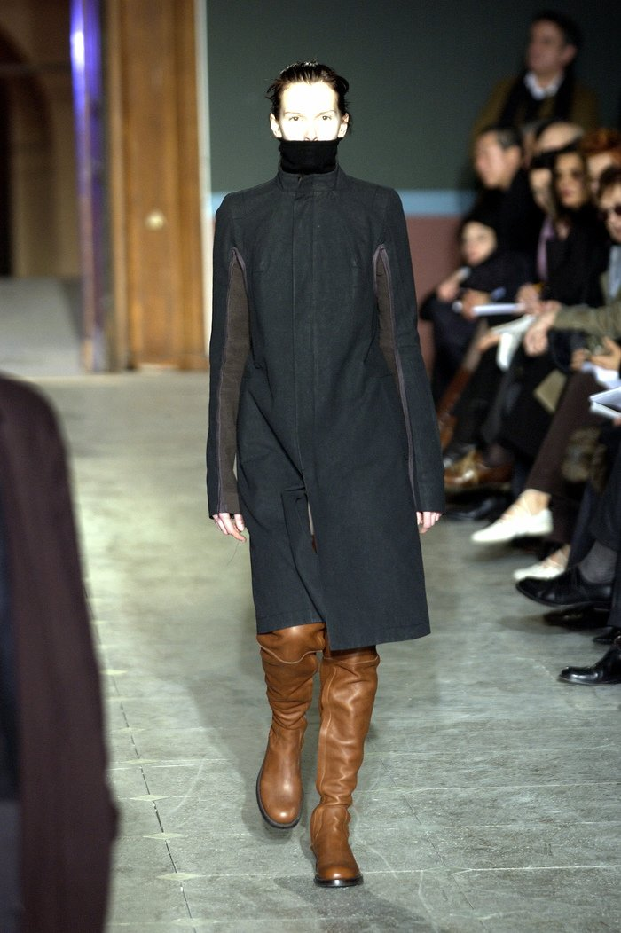 Collections cover rick owens aw03 trucker runway 030