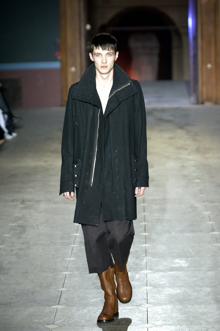 Collections cover rick owens aw03 trucker runway 031