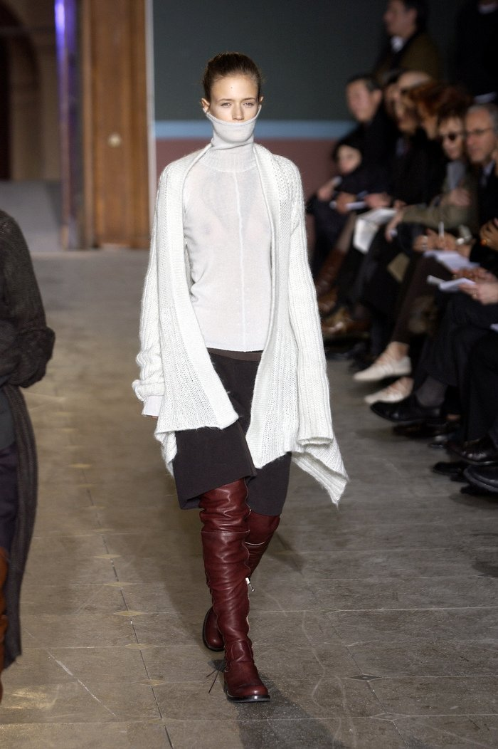 Collections cover rick owens aw03 trucker runway 033