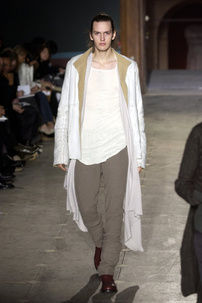 Collections cover rick owens aw03 trucker runway 034