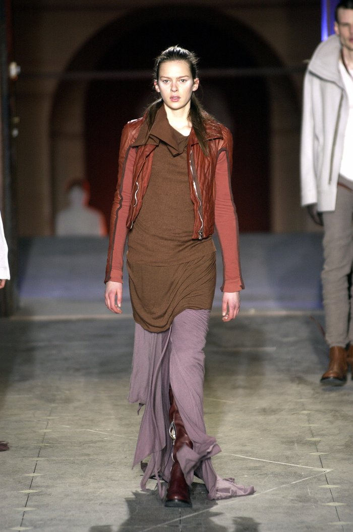 Collections cover rick owens aw03 trucker runway 035
