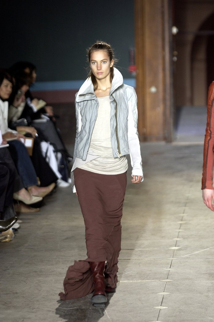 Collections cover rick owens aw03 trucker runway 036