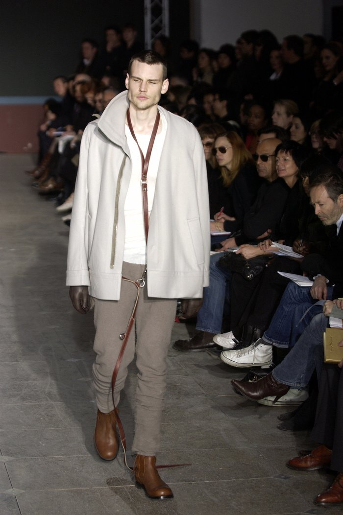 Collections cover rick owens aw03 trucker runway 037