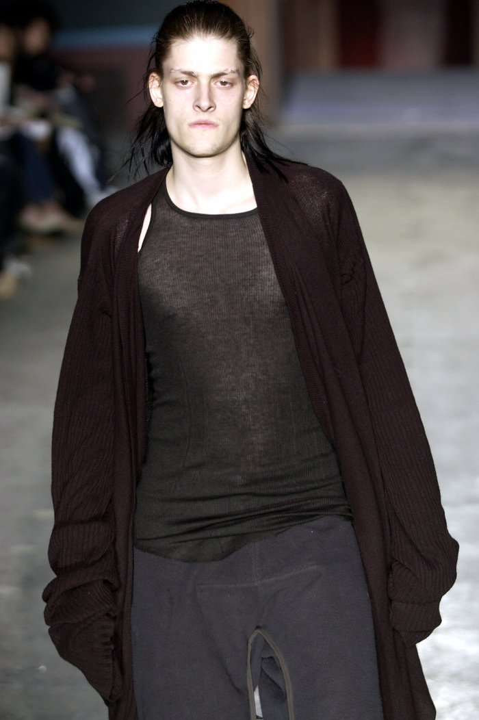 Collections cover rick owens aw03 trucker runway 039