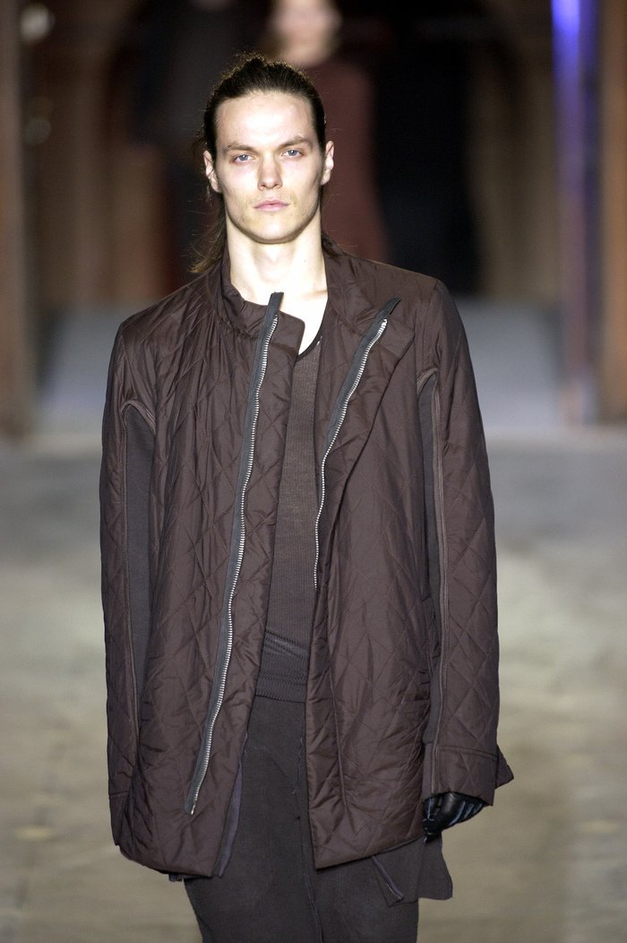 Collections cover rick owens aw03 trucker runway 040