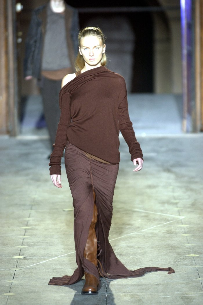 Collections cover rick owens aw03 trucker runway 041