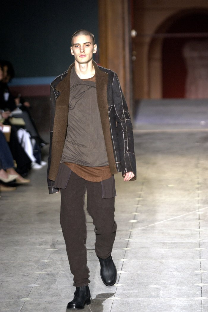 Collections cover rick owens aw03 trucker runway 042