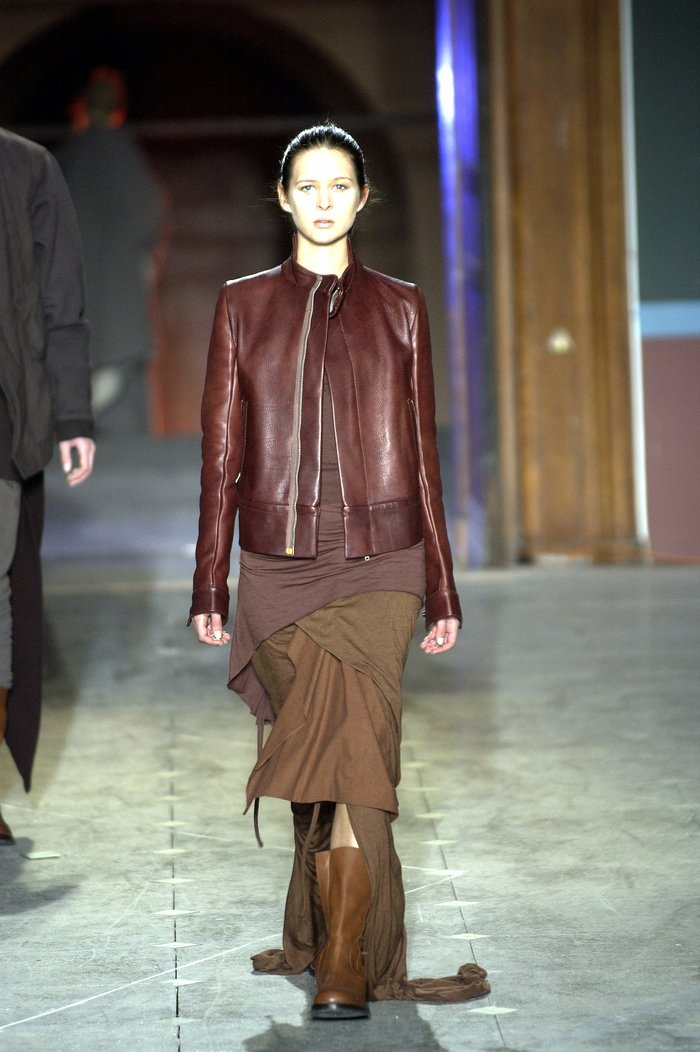 Collections cover rick owens aw03 trucker runway 044